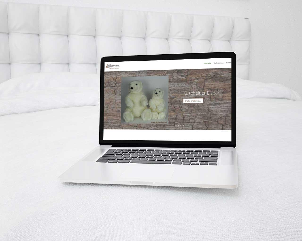 Mobiloptimierter Onlineshop mit Fullwidth Slider