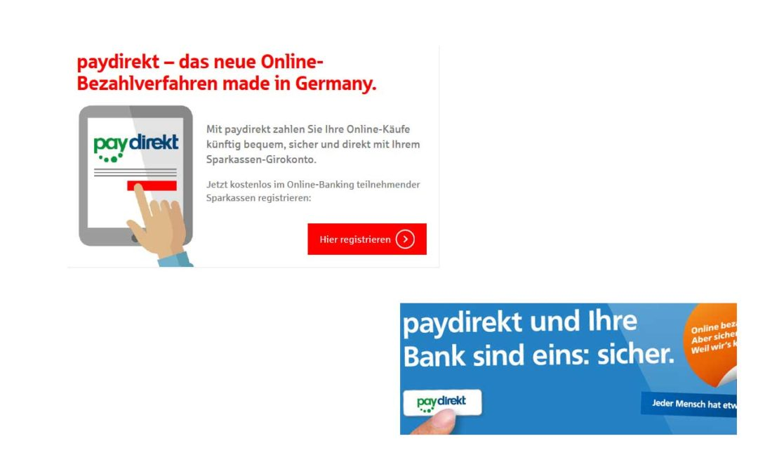 paydirekt – Alternative zu PayPal oder Mega Flop?