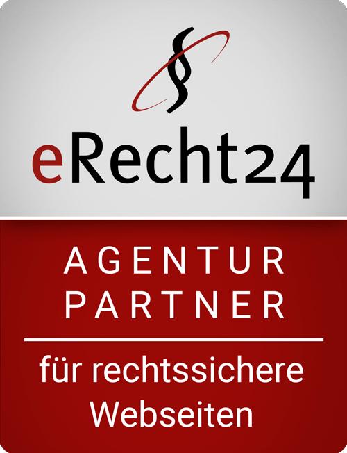 seowebb Internetmarketing ist Agenturpartner von eRecht24 für rechtssichere Webseiten